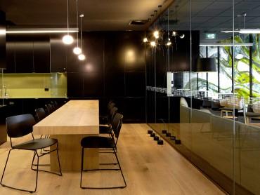 Modern community lounge